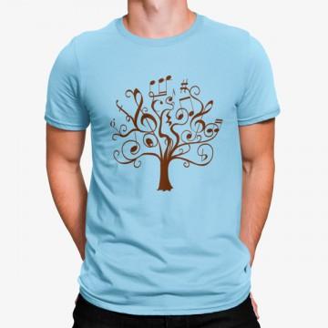 Camiseta Árbol Notas Musicales