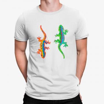 Camiseta Lagartija Coloridas