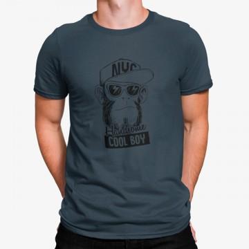 Camiseta Mono Estilo Cool Chico