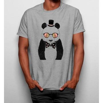 Camiseta Oso Hipster Divertido Gafas