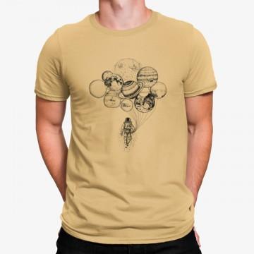 Camiseta Planetas Globos