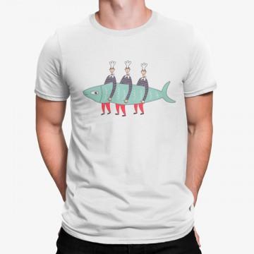 Camiseta Tres Cocineros Pescado
