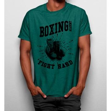 Camiseta Academia De Boxeo Fight Hard