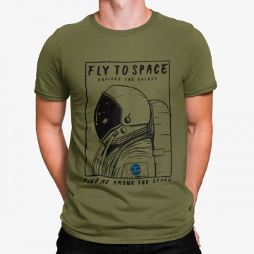 Camiseta Astronauta en Misión al Espacio