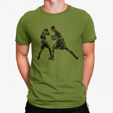 Camiseta Boxeadores Luchando