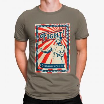 Camiseta Boxer Caballero Vintage