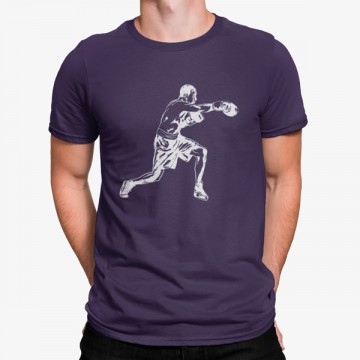 Camiseta Boxer Luchando