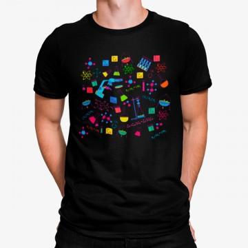 Camiseta Ciencias Coloridas