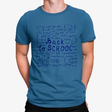 Camiseta De Vuelta A La Escuela Matemáticas