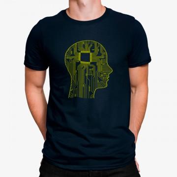 Camiseta Mente Chip Informática