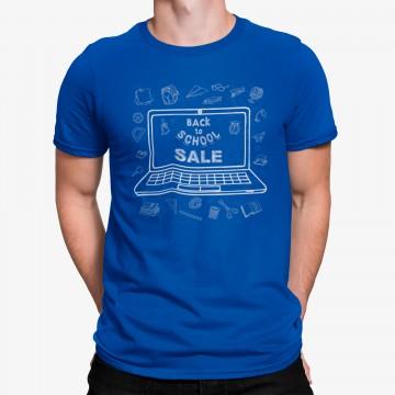 Camiseta Ordenador Dibujo De Vuelta  A La Escuela
