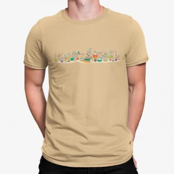 Camiseta Química Laboratorio Divertido