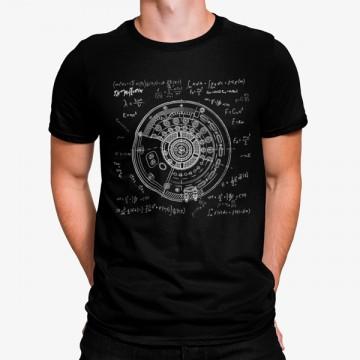 Camiseta Rueda Matemáticas Ecuaciones