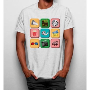 Camiseta Iconos Cinema 3D