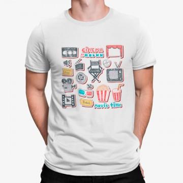Camiseta Iconos Coloridos