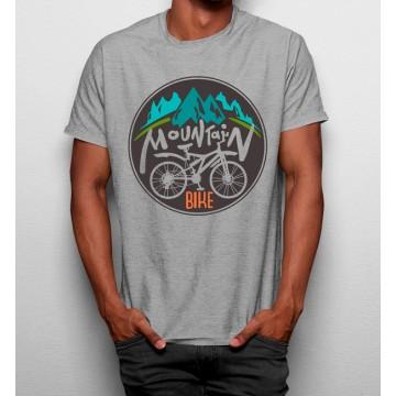 Camiseta Bicicleta Naturaleza Montaña