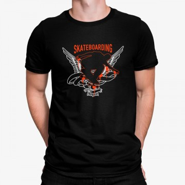Camiseta Skateboarding Alas