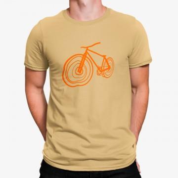Camiseta Bicicleta Minimalista