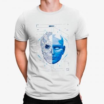 Camiseta Robot Calavera Humano