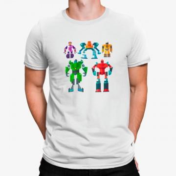 Camiseta Robot Grupo De Transformers