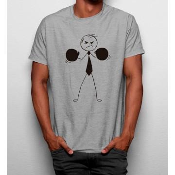 Camiseta Dibujo Boxeador
