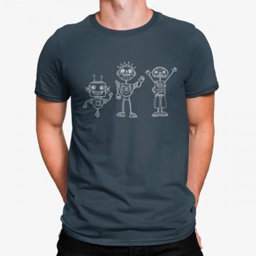 Camiseta Tres Robot Monos