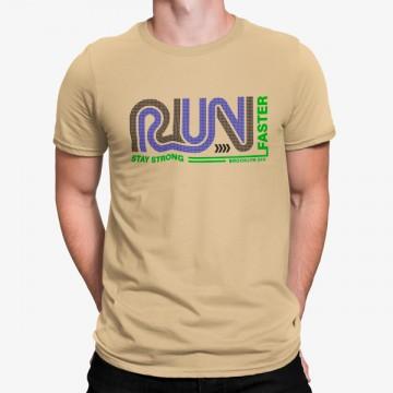 Camiseta Manten Te Fuerte Correr Rápido