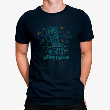 Camiseta Robot Aprendizaje Automático