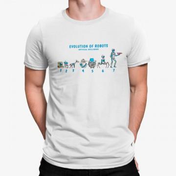 Camiseta Evolución De Los Robots
