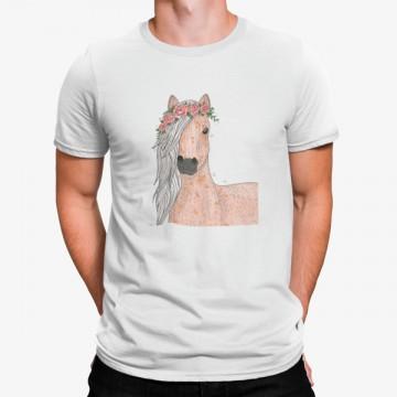 Camiseta Caballo con Corona...