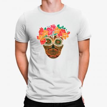 Camiseta Calareva Mexicana Flores