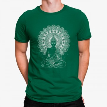 Camiseta Buda Meditación