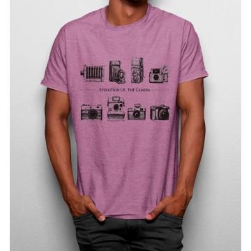 Camiseta Evolución Fotografia