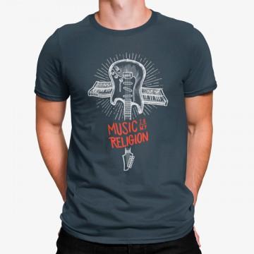 Camiseta La Música es mi Religión