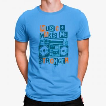 Camiseta Música me da Fuerza