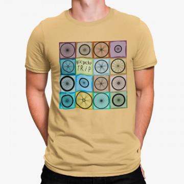 Camiseta Ruedas de Bicicletas