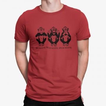 Camiseta Tres Monos Sabios