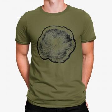 Camiseta Trozo de Arból