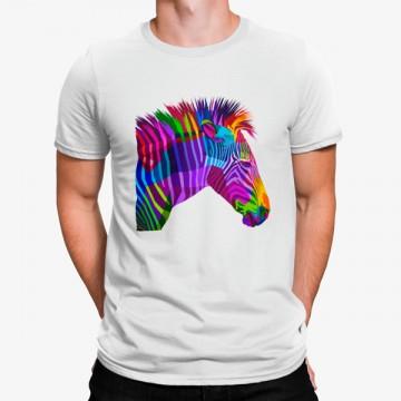 Camiseta Cebra Colorida