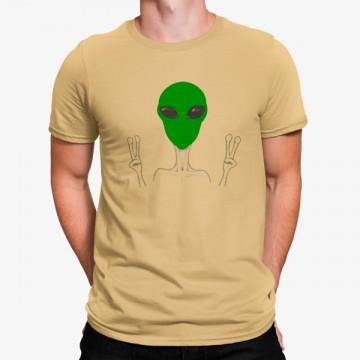 Camiseta Alien Espacio