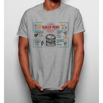 Camiseta Menu Hamburguesas