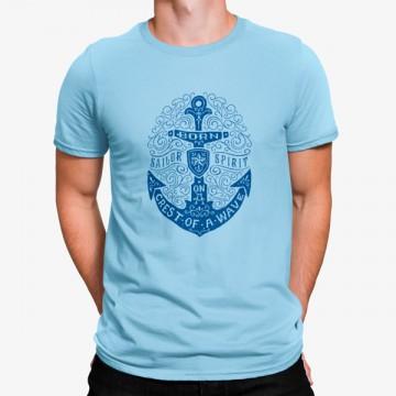 Camiseta Ancla Espíritu de Marinero
