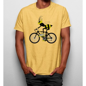 Camiseta Abeja en Bicicleta