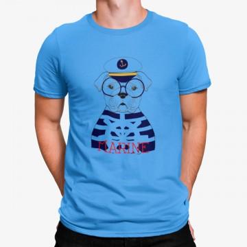 Camiseta Perro Marinero