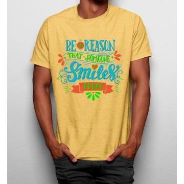 Camiseta Sé una Razón para que Alguien Sonrie Hoy