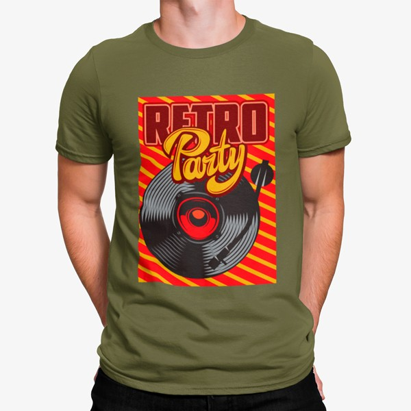 Camiseta Retro Party Tocadiscos