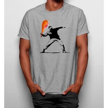 Camiseta Banksy con Jamón