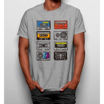 Camiseta Casetes Años 90