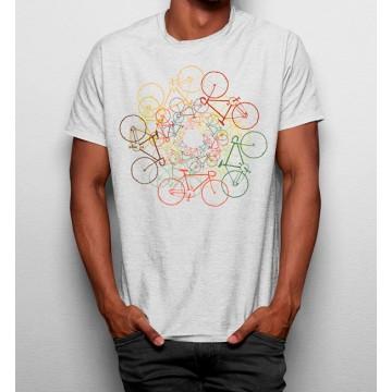 Camiseta Círculo de Bicicletas