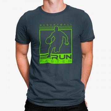 Camiseta Corre Más Rápido Baloncesto